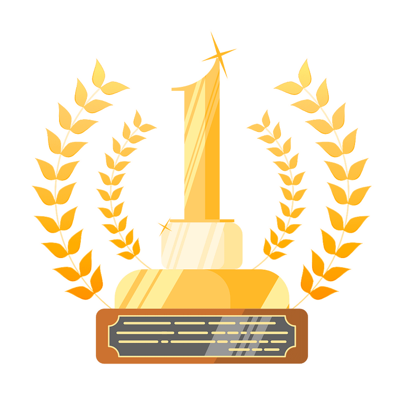 First Place Vector Trophy